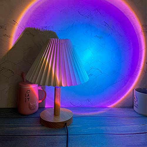 Sunset Lamp, BINKBANG Sunset Projection Light 180 Degree Rotation USB Sunset Glow Lamp Warm Romantic...