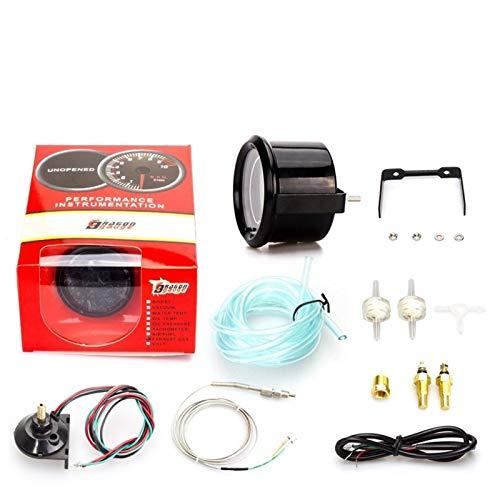 Colorido pantalla digital tacómetro del coche Indicador de presión modificada, la temperatura del agua Indicador, Medidor de temperatura del aceite, Manómetro de aceite, voltímetro, medidor de relació