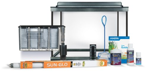 Marina Style 20 Deluxe Glass Aquarium Kit