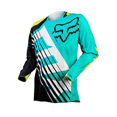 ZCFXJiTuanYZ MTB Outdoor-Sportbekleidung für Herren Mountainbike-Bekleidung Offroad-Motorradbekleidung Langarm-T-Shirt Sportswear M Code 1803