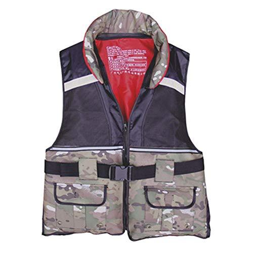 For Sale! Life Jacket Adult Buoyancy Suit Foam Swimming Portable Vest Fishing Suit Non-Professional ...
