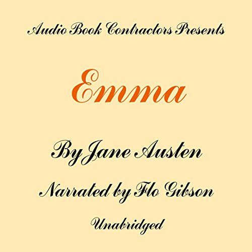 Emma audiobook cover art