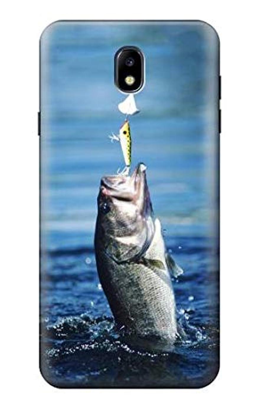 R1594 Bass Fishing Case Cover for Samsung Galaxy J7 (2018), J7 Aero, J7 Top, J7 Aura, J7 Crown, J7 Refine, J7 Eon, J7 V 2nd Gen, J7 Star tnd8242967