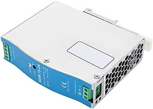 Nippon regular agency KIKITOG Switching Power Supply for Super special price PLC NDR-75-24 10 75W 24V 3.2A