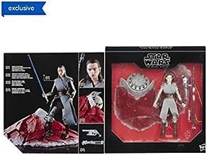 Star Wars The Black Series 6 inch Action Figure - Rey (Jedi Training) on Crait