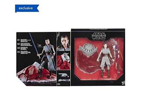 STAR WARS - The Black Series - Rey (Entrenamiento Jedi) en Crait
