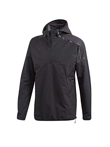adidas Herren ZNE Anorak Sweatshirt, Black, XL