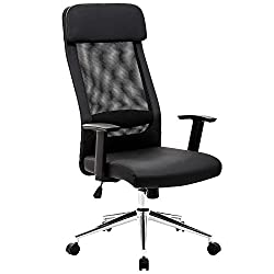 Mesh High Back Office Chair For Tall Persons