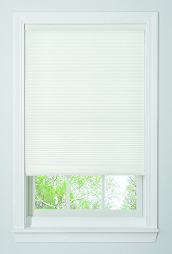 Bali Blinds Cordless Light Filtering Cellular Shade, 27' x 64', White