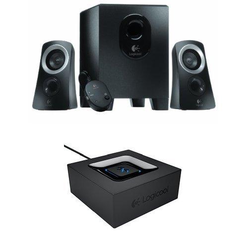 『【ロジクール ミュージックセット】PCスピーカーシステム Z313+ Bluetooth ミュージックレシーバーBB200』のトップ画像