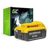 GC® (5Ah 18V Li-Ion) DCB180 DCB181 DCB182 DCB183 DCB184 DCB185 DCB186 DCB200 DCB201 DCB203 DCB204 DCB205 XJ XR Batería para DeWalt DCD771C2 DCD776 DCD796P2 DCF880 DCF885 DCF899P2