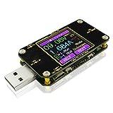 Medidor de corriente y voltaje USB Multímetro digital Amperímetro Multifuncional Voltímetro