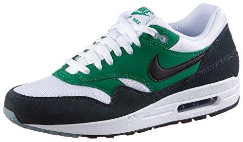 Nike Air Max 1 Essential para hombre, (Blanco Negro Verde Lucid 120), 41 EU