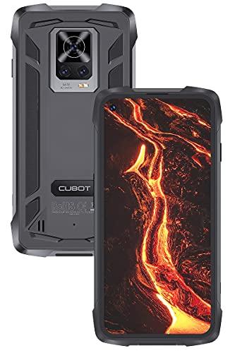 CUBOT Móvil Resistente Antigolpes y Agua, King Kong 7 Smartphone IP68 IP69K, 8GB+128GB Pantalla 6,36 Pulgadas 1080P Cámara Triple 64MP IA Batería Duradera 5000mAh, Dual SIM con NFC GPS Android 11