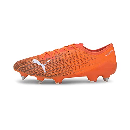 Puma Ultra 2.1 MxSG, Botas de fútbol Hombre, Naranja, 40.5 EU