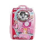 XYSQWZ Pet Space Bag Spielhausset Pädagogisches Kit Spielzeug Kinderhundepflege Doctor Kit mit...
