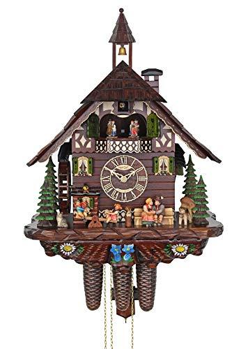 Adolf Herr Cuckoo Clock - Happy Family