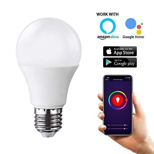 Sonoff B1ampoule LED Couleur, sans fil Smart Home Automation Compatible avec Alexa...
