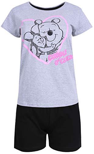 sarcia.eu Gelb-Grauer Pyjama Pu der Bär Winnie The Pooh Large