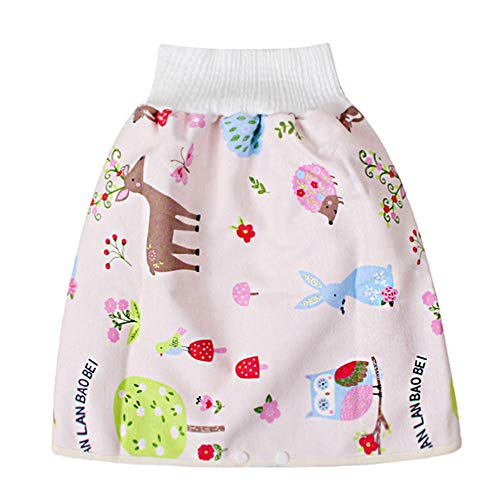 Teekit Comfy Childrens Diaper Skirt - Pantaloncini impermeabili e assorbenti per bambini