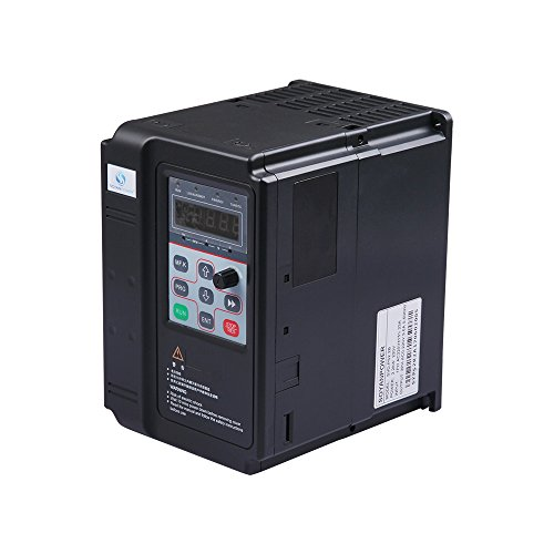 LAPOND High Performance VFD Inverter VFD Drive 1.5KW 220V 2HP 7A,Variable Frequency Drive for Motor Speed Control,SVD-PS Series