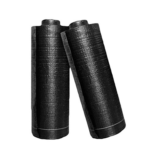 N / A Malla contra Malas Hierbas 1.5m x10m Grosor 100 g/m2 - Malla para arenero subsuelo Malas Hierbas maleza - Estabilizada contra UV Tejido en Tiras