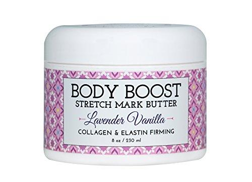 Body Boost Lavender Vanilla Stretch Mark Butter 8 oz.- Treat...