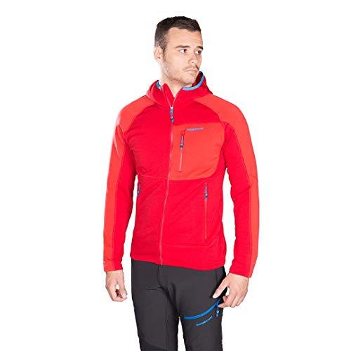 Trangoworld Trx2 Stretch Pro Veste pour homme L Rouge foncé/rouge