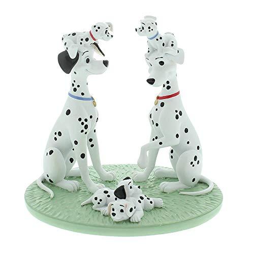Disney Magical Moments - 101 Dalmatians One Big Happy Family Keepsake Figurine DI188