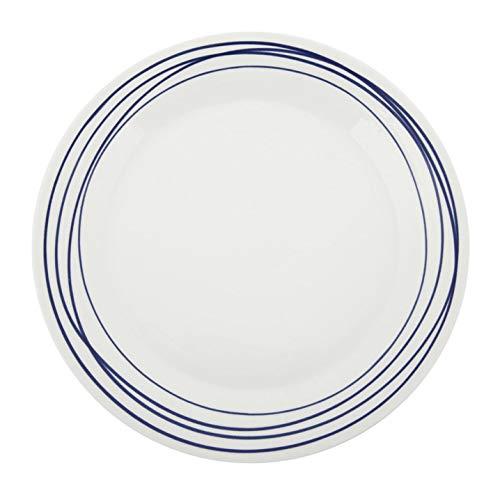 Miranda Kerr by Royal Albert Royal Doulton Pacific Dinerbord - Canna da pesca in porcellana di cenere di osso