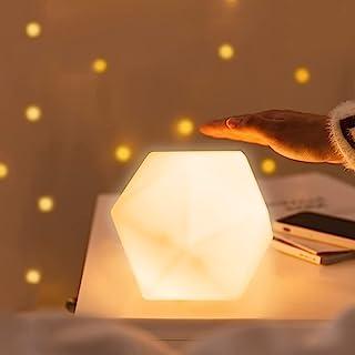 JESLED Night Lights,2 Pack Night Lamp for Bedroom,Table Beside Lamp for Nursery Breastfeeding Baby Kids Room Bedroom,Touch...