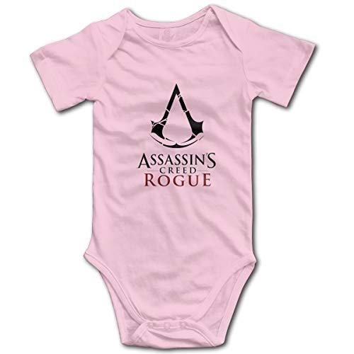 Assassin's Creed Baby Sleeve Bodysuit Onesies Pink