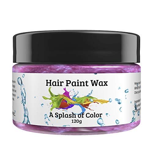 Hair Paint Wax A Splash Of Color - Prime Rose (120 Gram)   Environmentally Friendly Temporary Unisex Natural Hair Paint   Easy To Use and Suitable For Most Hair Types  Hair Makeup