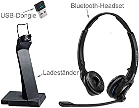 Sennheiser MB Pro 2 UC ML Headset - Stereo - Wireless - Bluetooth - Over-The-Head - Binaural - Supra-aural - Noise Cancelling Microphone (153861)