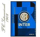 Inter Milano Agenda scolaire 2019/2020 avec porte-clés, sifflet et stylo de couleur...