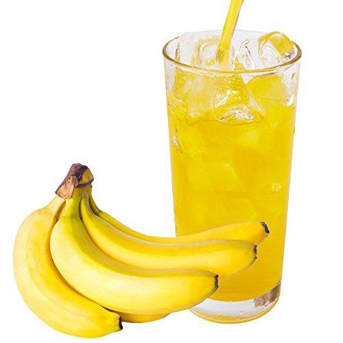 Banane Geschmack extrem ergiebiges Getränkepulver für Isotonisches Sportgetränk Energy-Drink ISO-Drink Elektrolytgetränk Wellnessdrink