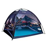 Space Kids Play Tent - Exqline Children Galaxy Dome Playhouse Portable Astronaut Space Theme Play Tent for Boys Girls Indoor and Outdoor Playing and Camping Tent, Gift for Kids - 47 x 47 x 43inch