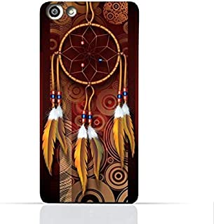 OPPO F1S TPU Silicone Case With American Feathers Design
