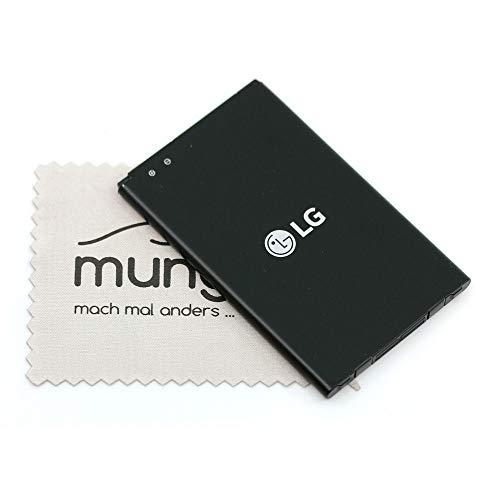 Batería para LG Original BL-45A1H EAC63158301 para LG K10 LTE con paño de Limpieza mungoo