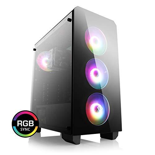 CSL Computer Aufrüst-PC 912 - AMD Ryzen 5 3600 - AMD Ryzen 5 3600 6X 3600 MHz, 8 GB DDR4, GigLAN, 7.1 Sound, USB 3.1, ohne Betriebssystem