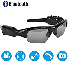Bluetooth Sunglasses Camera,Camera Glasses Full HD 1080P with Wide Angle Mini Video..