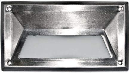 Dabmar Lighting Super intense SALE DSL1027-SS304 7 watt 120 Hooded New Free Shipping V PL7 Stainless