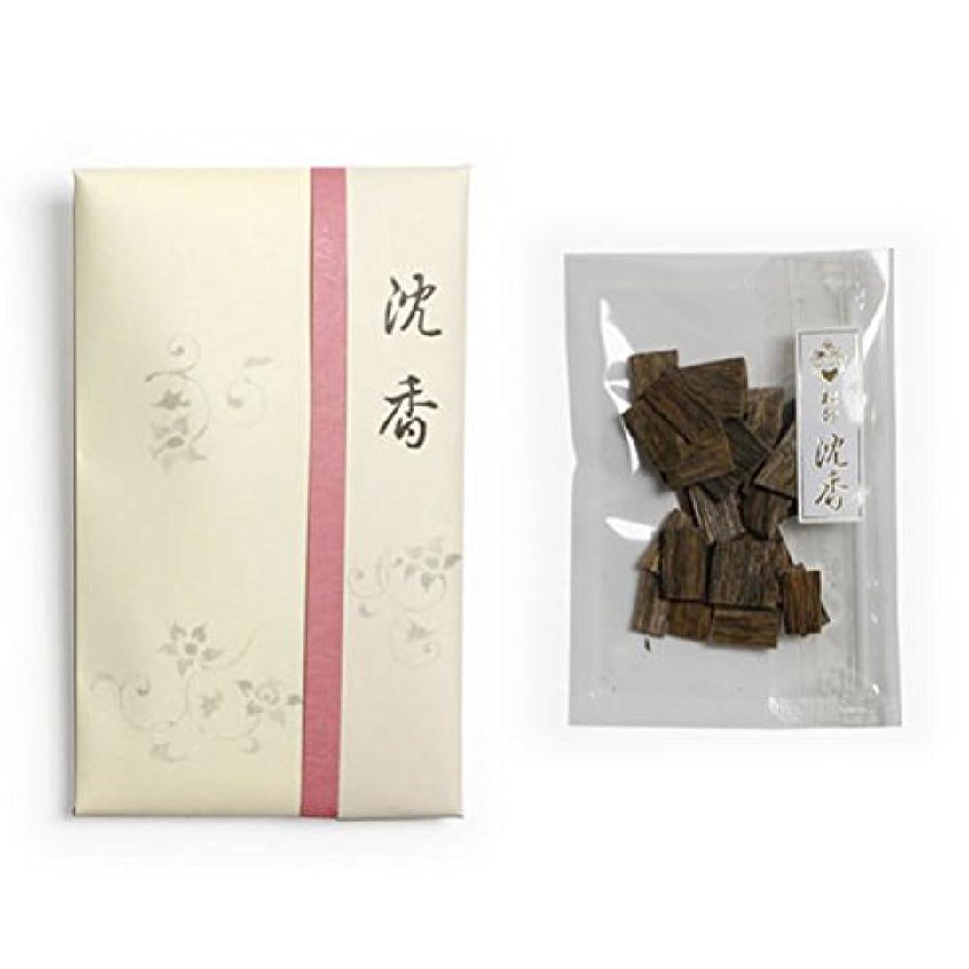 発揮する銛メンタル香木 松印 沈香 割(わり) 5g詰 松栄堂