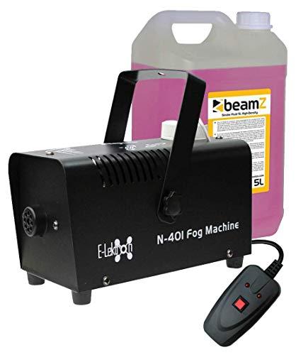 E-Lektron N-401 kompakte DJ Party Nebelmaschine 400W inkl. 5L Nebelfluid