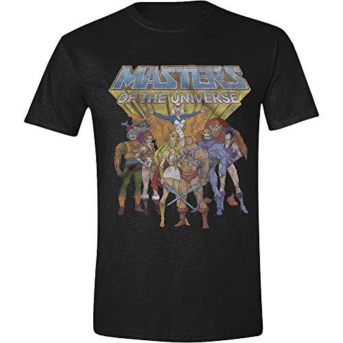 Masters of the Universe - Classic Characters Herren T-Shirt - Schwarz, Große:XL