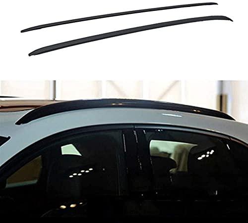 Zhbqcmou Carril de la azotea del Coche Equipaje de Equipaje Titular de la compañía de Carga para Mercedes- Benz GLC Coupe C253 2016-2020 hnzhb (Color : Black)