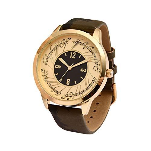 Accutime Watch Corp. Herr der Ringe Armbanduhr Der Eine Ring analog Ø Gehäuse 4cm