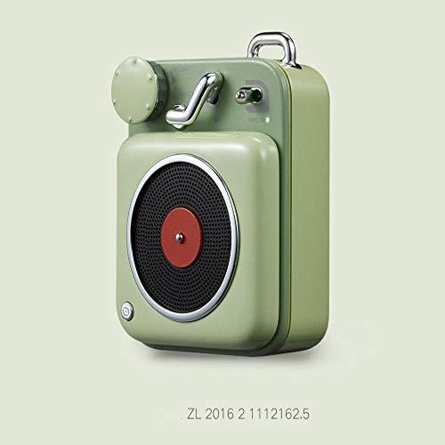 Atomic platenspeler Bluetooth Intelligent Audio Aluminium Mini draagbare luidspreker geschikt voor gezinnen of reizen, 1