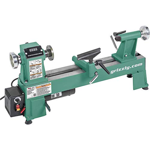 Buy Bargain Grizzly Industrial T25926-10 x 18 Variable-Speed Benchtop Wood Lathe