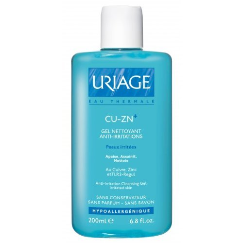 Uriage CU-ZN+ Gel Nettoyant Anti Irritations 200 ml